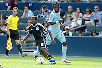 San Jose forward Marvin Chavez (81) in action... Sporting Kansas City defeated San Jose Earthquakes 2-1 at LIVESTRONG Sporting Park, Kansas City, Kansas.