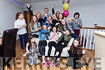 Chloe Lehane, Connolly Park Tralee celebrating her 13th Birthday with family and friends at La Scala's on Saturday