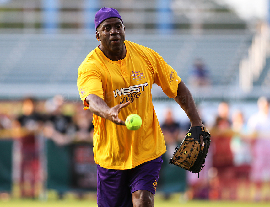 Jeffrey Osborne Celebrity Softball 2014