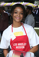 LOS ANGELES, CA - April 14: Ajiona Alexus, At Los Angeles Mission's Easter Celebration For The Homeless At Los Angeles Mission  In California on April 14, 2017. <br /> CAP/MPI/FS<br /> &copy;FS/MPI/Capital Pictures