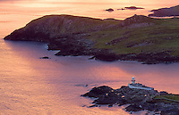 Irish Lighthouse Iveragh Peninsula Valentia Island, County Kerry Ireland / vl095_2