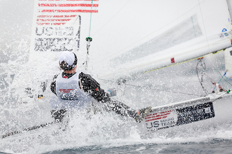 20140402, Palma de Mallorca, Spain: SOFIA TROPHY 2014 - 850 sailors from 50 countries compete at the ISAF Sailing World Cup event. 470 Women - USA1712 - Anne Haeger / Briana Provancha. Photo: Mick Anderson/SAILINGPIX.