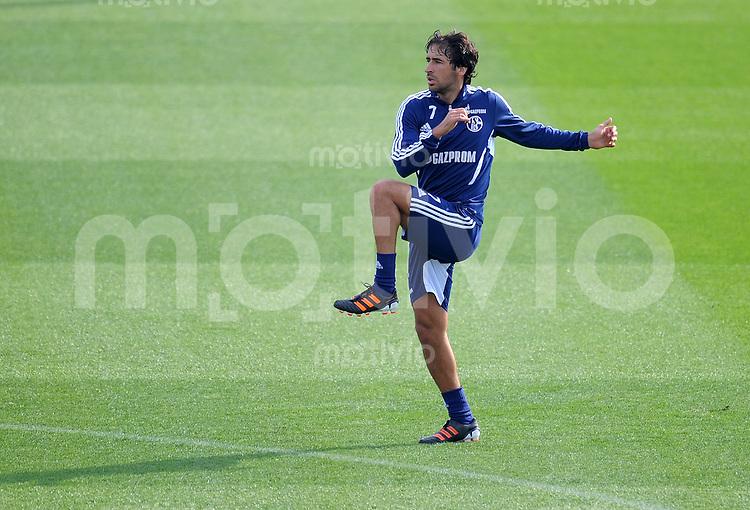 Fussball 1. Bundesliga:  Saison   2011/2012    Winter Trainingslager des FC Schalke 04 05.01.2012 RAUL