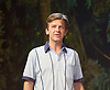 Way Up Stream <br /> by Alan Ayckbourn <br /> <br /> at The Festival Theatre Chichester, Great Britain <br /> <br /> 27th April 2015 <br /> <br /> Press photocall <br /> <br /> <br /> Jason Hughes as Alistair <br /> <br /> <br /> Photograph by Elliott Franks <br /> Image licensed to Elliott Franks Photography Services