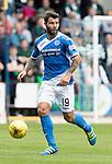 St Johnstone v Celtic&hellip;20.08.16..  McDiarmid Park  SPFL<br />Richie Foster<br />Picture by Graeme Hart.<br />Copyright Perthshire Picture Agency<br />Tel: 01738 623350  Mobile: 07990 594431