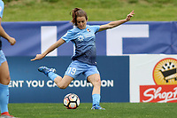 Piscataway, NJ - Saturday May 20, 2017: Kelley O'Hara during a regular season National Women's Soccer League (NWSL) match between Sky Blue FC and the Houston Dash at Yurcak Field.  Sky Blue defeated Houston, 2-1.