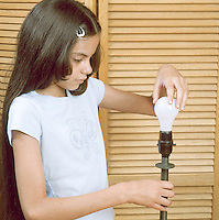 CHANGING A LIGHT BULB<br />