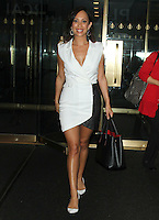 MAY 19 Cheryl Burke arrives at The Today Show