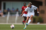 06 October 2013: North Carolina's Kelly McFarlane. The University of North Carolina Tar Heels hosted the University of Maryland Terrapins at Fetzer Field in Chapel Hill, NC in a 2013 NCAA Division I Women's Soccer match. UNC won the game 3-1.