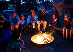 The Wilderness Inquiry family camping trip to Yellowstone Park, Wyoming took place from July 30 to August 4, 2011.  Twenty-three people attended, of which three were organizers and one photographer.  There were four family units, one with three generations.
