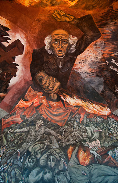 Pin mural de clemente orozco guadalajara on pinterest for Aviso de ocasion mural guadalajara