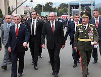 Inauguration of President of Artsakh (Nagorno-Karabakh) 07/09/2012