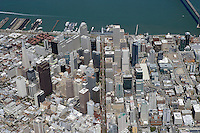 aerial photograph Market Street San Francisco, California