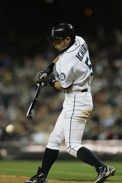 12 May 2007: Seattle Mariners center fielder Ichiro Suzuki (51)  during the Mariners vs New York Yankees at Safeco Park in Seattle, Washington.