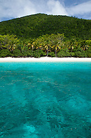 Honeymoon Beach<br /> Virgin Islands National Park<br /> St. John<br /> U.S. Virgin Islands