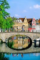 Along the canals, Brugge, Belgium