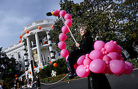 Performers and Halloween decorations are seen at the South Portico of the White House in Washington, DC before President Barack Obama and the First Lady will welcome local children and children of military families to trick-or-treat on October 31, 2016. <br /> Credit: Olivier Douliery / Pool via CNP /MediaPunch