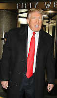 DEC 17 Donald Trump Seen at Access Hollywood