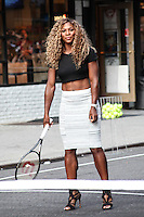 AUG 20 Serena Williams At Late Show With David Letterman - NY