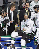 Chris Porter, Dave Hakstol, Travis Zajac, Cary Eades, Rastislav Spirko - The University of Minnesota Golden Gophers defeated the University of North Dakota Fighting Sioux 4-3 on Saturday, December 10, 2005 completing a weekend sweep of the Fighting Sioux at the Ralph Engelstad Arena in Grand Forks, North Dakota.