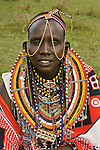 Portrait of a Maasai tribesman