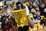 PITTSBURGH, PA - JANUARY 23: Ike Taylor #24 of the Pittsburgh Steelers runs onto the field with a terrible towel over his face before a game against the New York Jetsin the AFC Championship Playoff Game at Heinz Field on January 23, 2011 in Pittsburgh, Pennsylvania(Photo by: Rob Tringali) *** Local Caption *** Ike Taylor