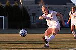 29 November 2013: Virginia Tech's Kelsey Loupee. The Virginia Tech University Hokies played the Duke University Blue Devils at Thompson Field in Blacksburg, Virginia in a 2013 NCAA Division I Women's Soccer Tournament Quarterfinal match. Virginia Tech won the game 3-0.