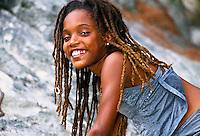 11 year old Bermudian girl, Horseshoe Bay, Bermuda