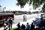 Accident and gas leak on El Camino Real Road---June 8, 2012
