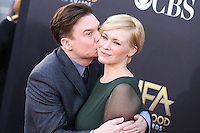 HOLLYWOOD, LOS ANGELES, CA, USA - NOVEMBER 14: Mike Myers, Kelly Tisdale arrive at the 18th Annual Hollywood Film Awards held at the Hollywood Palladium on November 14, 2014 in Hollywood, Los Angeles, California, United States. (Photo by Xavier Collin/Celebrity Monitor)