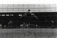 Pix:Michael Steele/SWpix...Soccer. Liverpool v Tottenham, Anfield, 1988...COPYRIGHT PICTURE>>SIMON WILKINSON..Liverpool's goalkeeper Bruce Grobelaar.