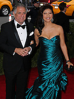"""NEW YORK CITY, NY, USA - MAY 05: Leslie Moonves, Julie Chen at the """"Charles James: Beyond Fashion"""" Costume Institute Gala held at the Metropolitan Museum of Art on May 5, 2014 in New York City, New York, United States. (Photo by Xavier Collin/Celebrity Monitor)"""