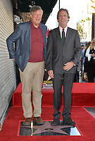 LOS ANGELES, CA. October 25, 2016: Stephen Fry &amp; Hugh Laurie at the Hollywood Walk of Fame star ceremony honoring British actor Hugh Laurie.<br /> Picture: Paul Smith/Featureflash/SilverHub 0208 004 5359/ 07711 972644 Editors@silverhubmedia.com