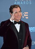 John Travolta at the 22nd Annual Critics' Choice Awards at Barker Hangar, Santa Monica Airport. <br /> December 11, 2016<br /> Picture: Paul Smith/Featureflash/SilverHub 0208 004 5359/ 07711 972644 Editors@silverhubmedia.com