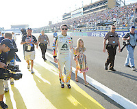 Jeff Gordon Final NASCAR Race At The Sprint Cup Series Ford EcoBoost 400