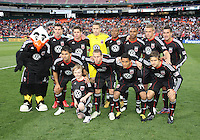 Starting eleven of D.C. United during an MLS match against the Chicago Fire on April 17 2010, at RFK Stadium in Washington D.C. Fire won 2-0.