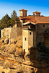 Greek Orthodox Monastery of All Saints Varlaam, Meteora Mountains - Greece