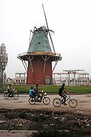 Fake Dutch Village in Ruins