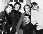 The Zombies 1964 (Paul Atkinson at far right).&copy; Chris Walter.