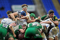 A general view of forwards competing at a maul. Aviva Premiership match, between London Irish and Exeter Chiefs on February 21, 2016 at the Madejski Stadium in Reading, England. Photo by: Patrick Khachfe / JMP