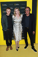 NEW YORK, NY - APRIL 19: Johnny Flynn, Emily Watson and Geoffrey Rush at National Geographic's Further Front at Jazz at Lincoln Center on April 19, 2017 in New York City. <br /> CAP/MPI/DC<br /> &copy;DC/MPI/Capital Pictures