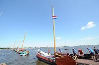 ZEILEN: TERHERNE, 23-07-2014, SKS skûtsjesilen, ©foto Martin de Jong