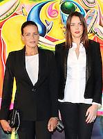 Princess Stephanie & daughter Pauline Ducruet attend Fight Aids Monaco annual charity auction