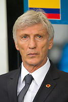 Columbia manager Jose Pekerman