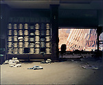 Interior of the Brooks Brother's store, showing Ground Zero, September 13, 2001..2001 © Sean HEMMERLE / CONTACT Press Images