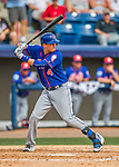 3 March 2016: New York Mets infielder Wilmer Flores in action during a Spring Training pre-season game against the Washington Nationals at Space Coast Stadium in Viera, Florida. The Mets fell to the Nationals 9-4 in Grapefruit League play. Mandatory Credit: Ed Wolfstein Photo *** RAW (NEF) Image File Available ***
