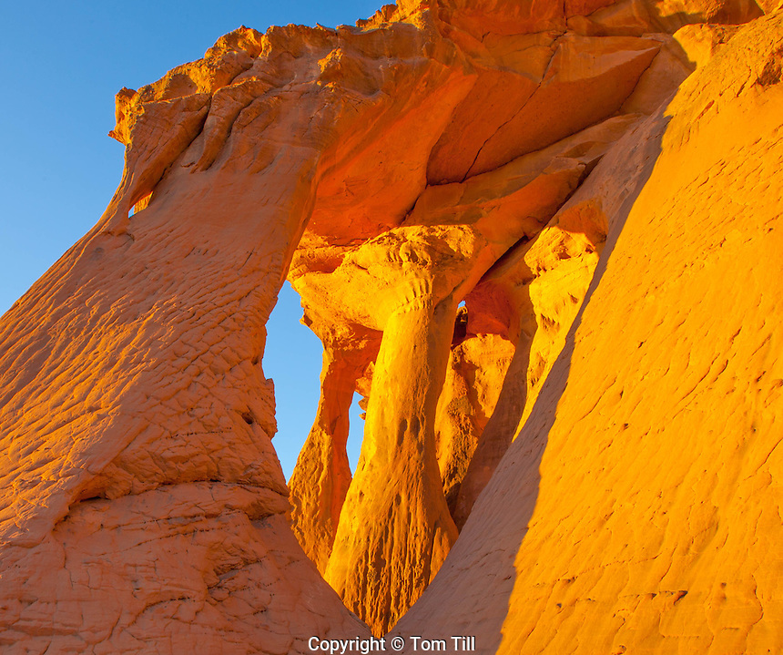 Mutant Arches,  Jebel Acacus, LIbya, Sahara Desert Mountains, UNESCO World Heritage Site, Africa
