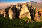 The Meteora Mountains, Greece