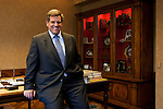 W. Rockwell &quot;Rocky&quot; Wirtz, Chicago Blackhawks Chairman, poses for an portrait in his Chicago Loop office.<br /> <br /> W. Rockwell Wirtz<br /> Rocky Wirtz<br /> Chicago Blackhawks Chairman<br /> April 16, 2009