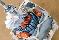 ELECTRIC MOTOR<br /> Small Electric Motor from Vacuum Cleaner<br /> A machine that converts electrical energy into mechanical energy